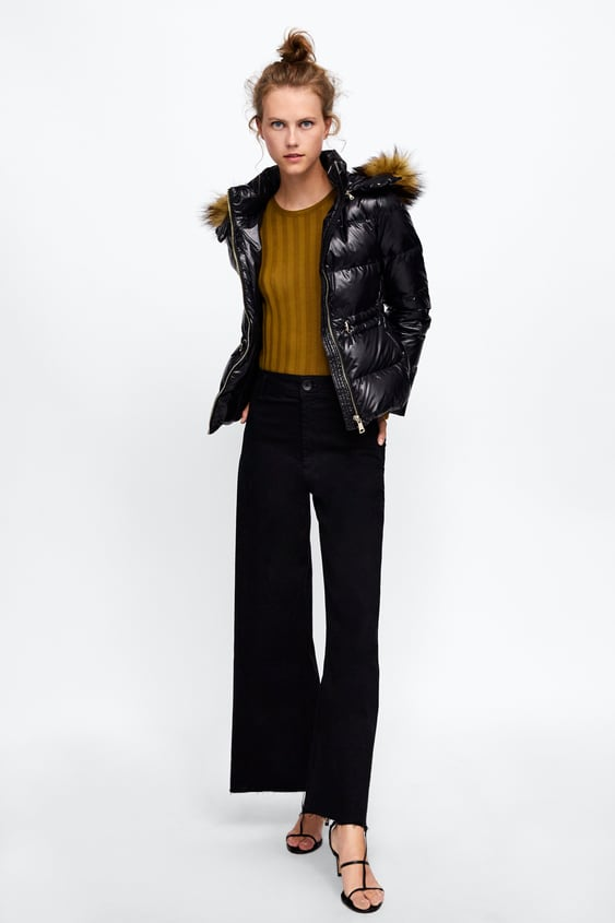 Shiny Effect Down Jacket  View All Jackets Woman by Zara