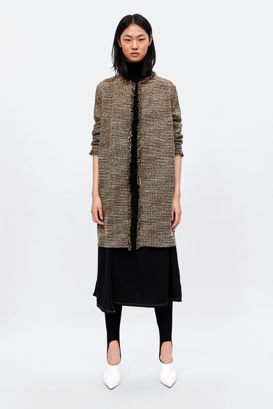 Sobretudo De Tweed  Special Pricesmulher by Zara