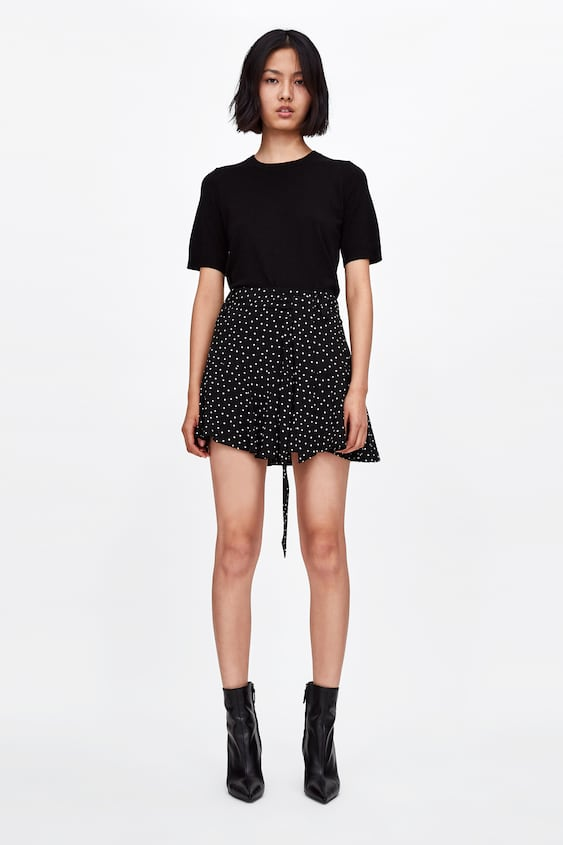 Flowing Bermuda Shorts With Bow  Trending Nowwoman by Zara
