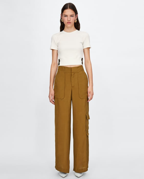 cropped-top-with-buttons--new-inwoman by zara