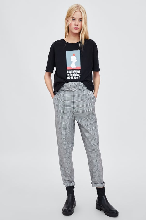 Printed Photograph T  Shirt Collection Trf Woman Corner Shops by Zara
