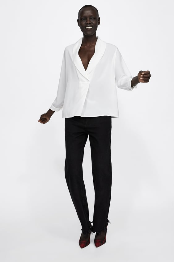 Shirt With Front Pleats  View All Shirts by Zara
