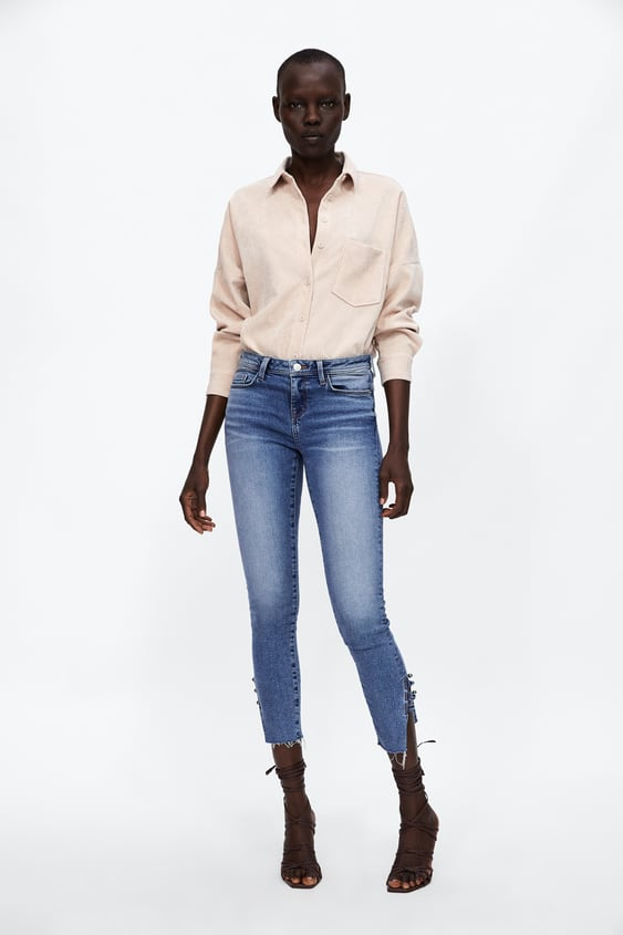 Camisa Micropana  Ver Todo Camisas Y Blusas Mujer by Zara
