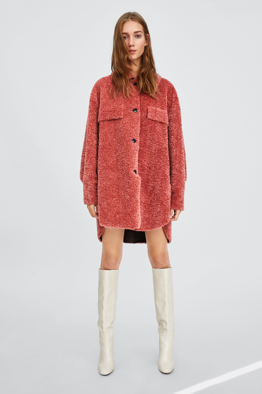 0047cac5 Red Sateen Bodysuit Zara
