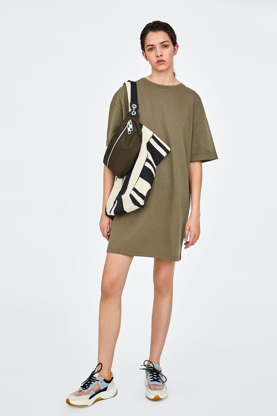 Basic Dress  Mini Dresses Trf by Zara
