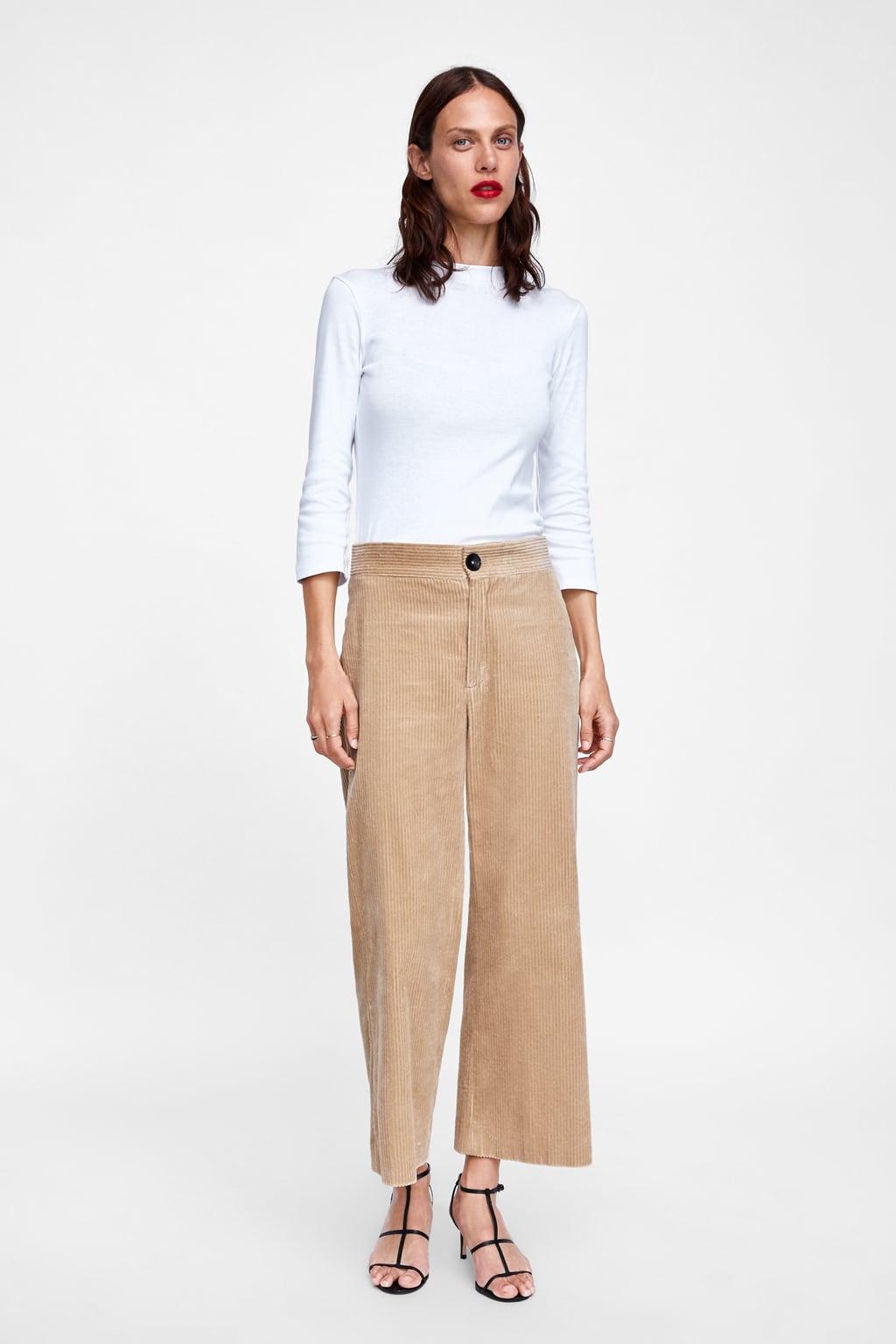Tricou Cu Guler Perkins  Afişare Toate Tricouri Femei by Zara