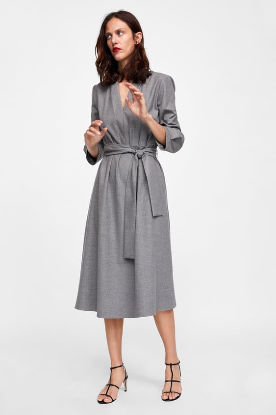 Pleated Midi Dress  Collection Timeless Woman Corner Shops by Zara