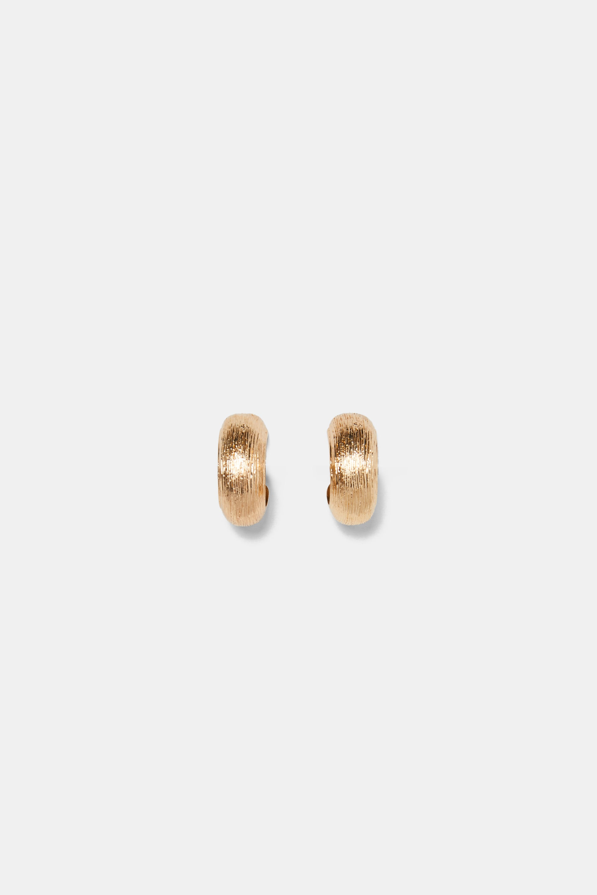 Metal Hoop Earrings  Collection Mood For Autumn Woman by Zara