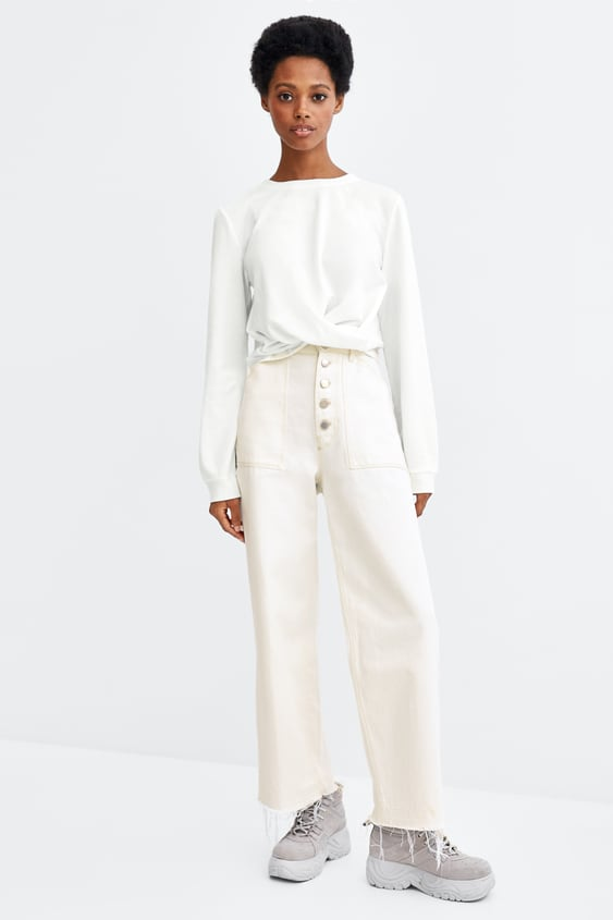 Ruched Top  New Intrf by Zara