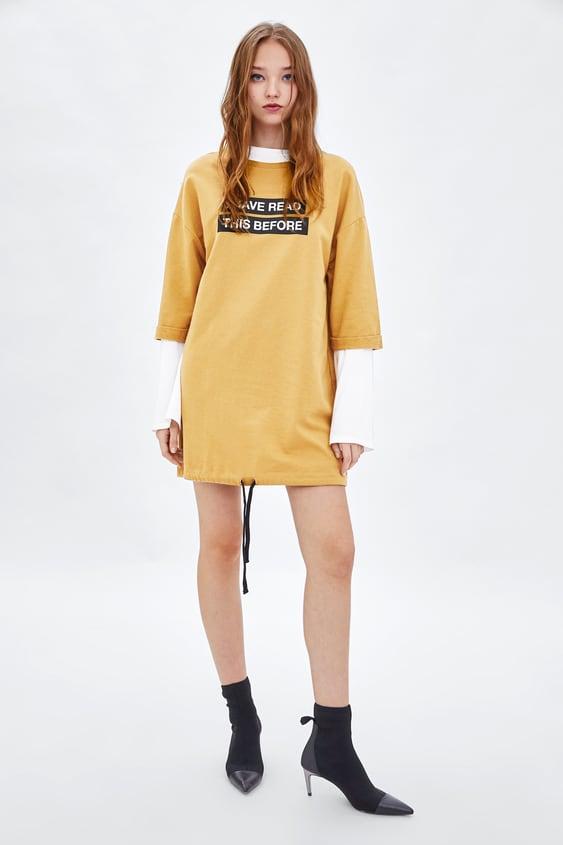 Plush Dress  Dresseswoman by Zara