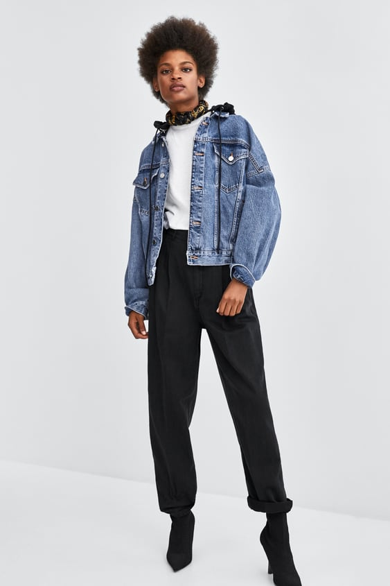 Trousers With Darts  View All Jeans Woman by Zara