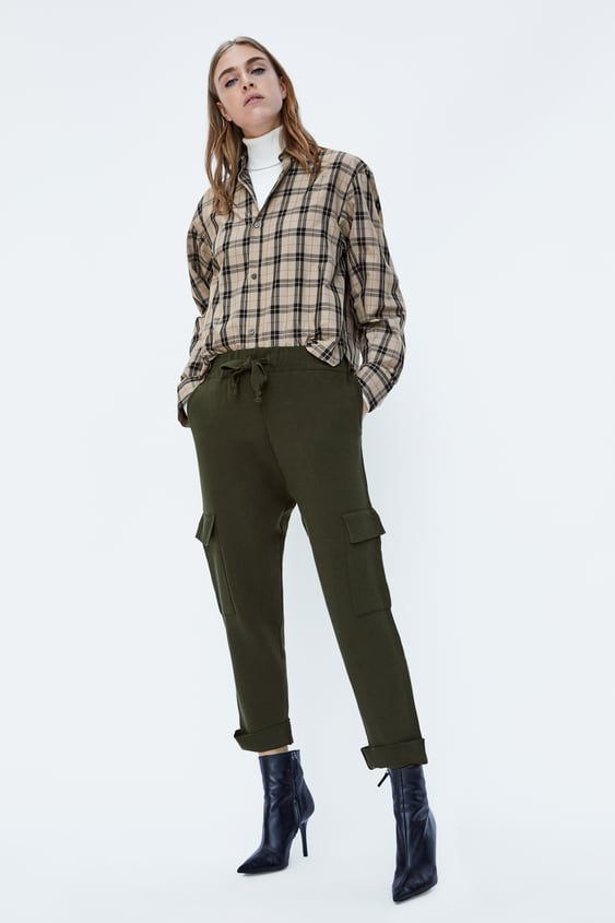 Jogging Trousers With Pockets  Editorial Soft 80's Trf by Zara