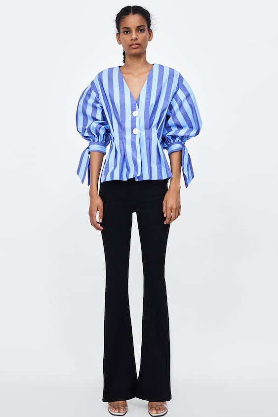 c564dbbd Jeans Zw Premium Skinny Flare Revolve Alles Bekijken Jeans Dames by Zara