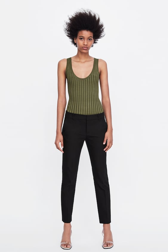 Straight Trousers  View All Trousers Woman by Zara