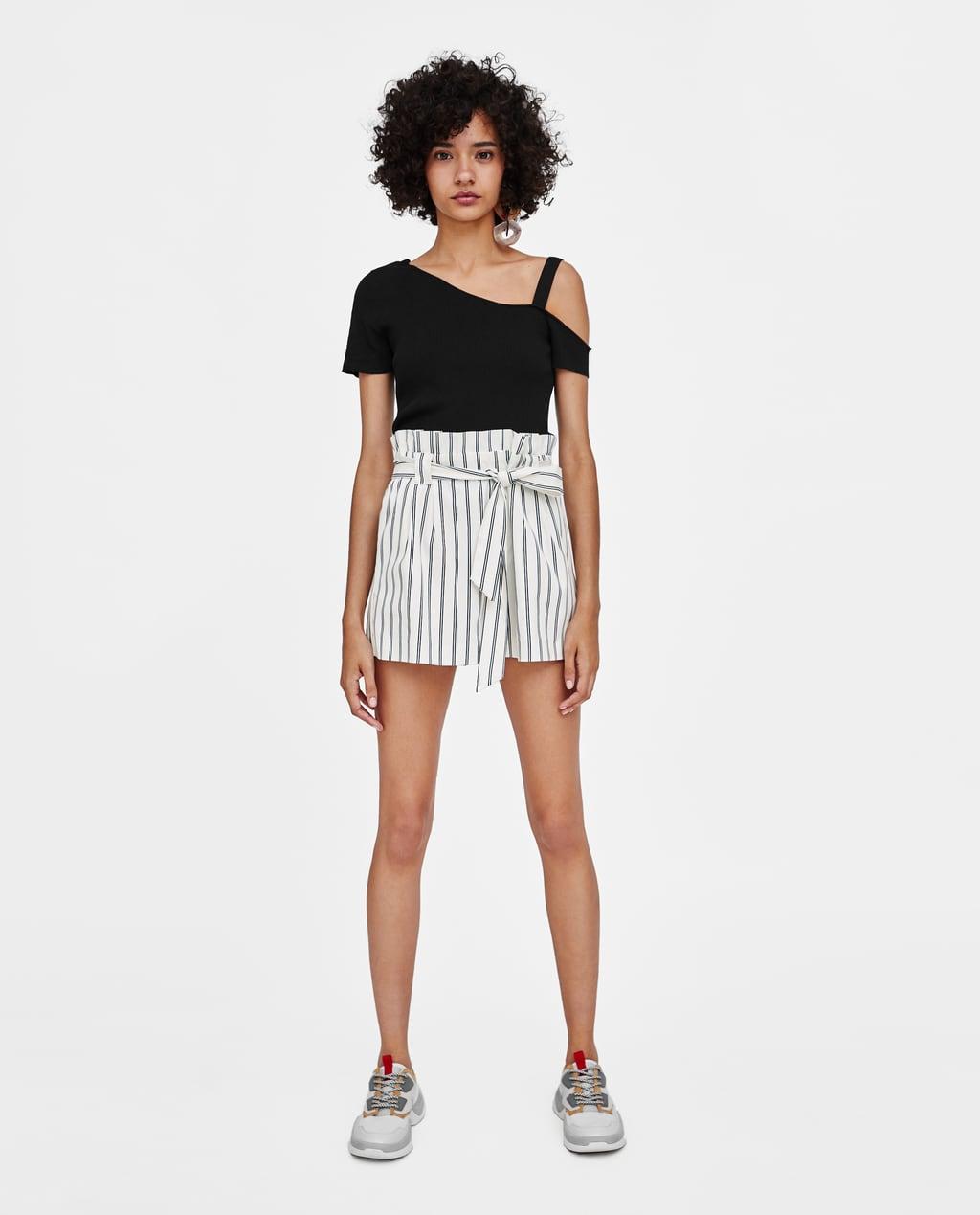 paper-bag-shorts--skirtstrf by zara