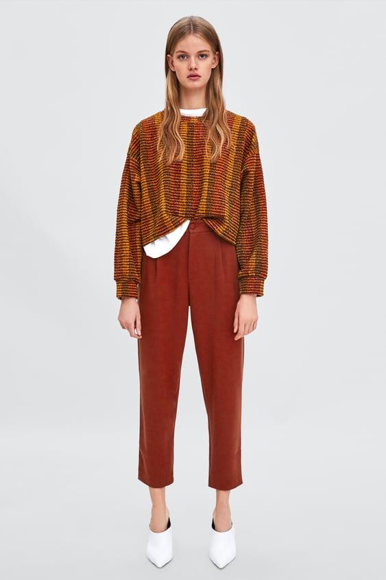 HØjtaljede Chino  Bukser Se Alle Varer Bukser Dame by Zara