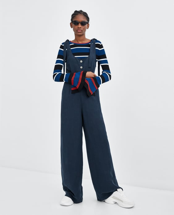 combinaison-À-jambes-larges--robestrf by zara