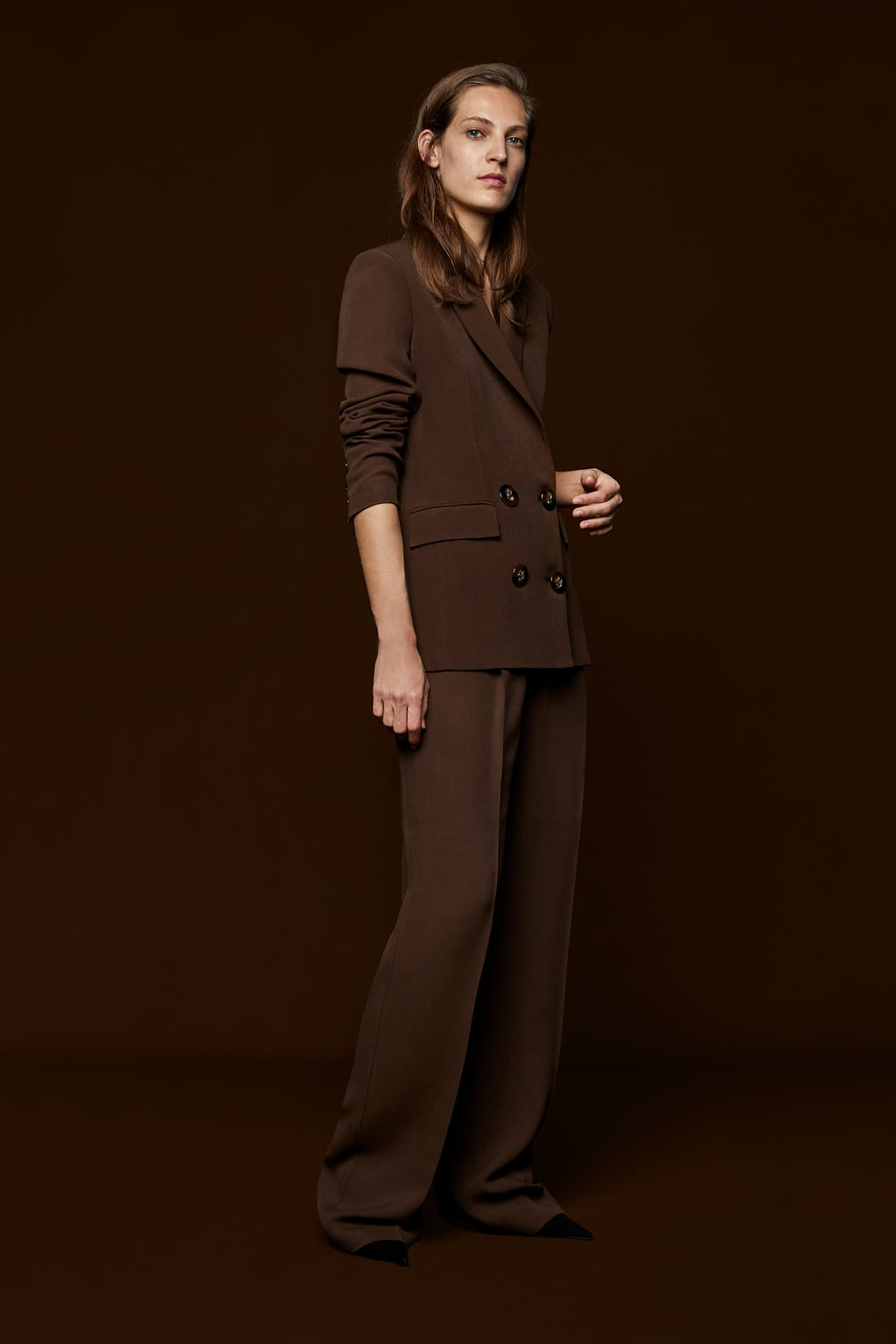 Pleated Trousers  Smart Trousers Woman by Zara