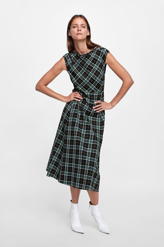 Checkered Dress  View All Dresses Woman by Zara