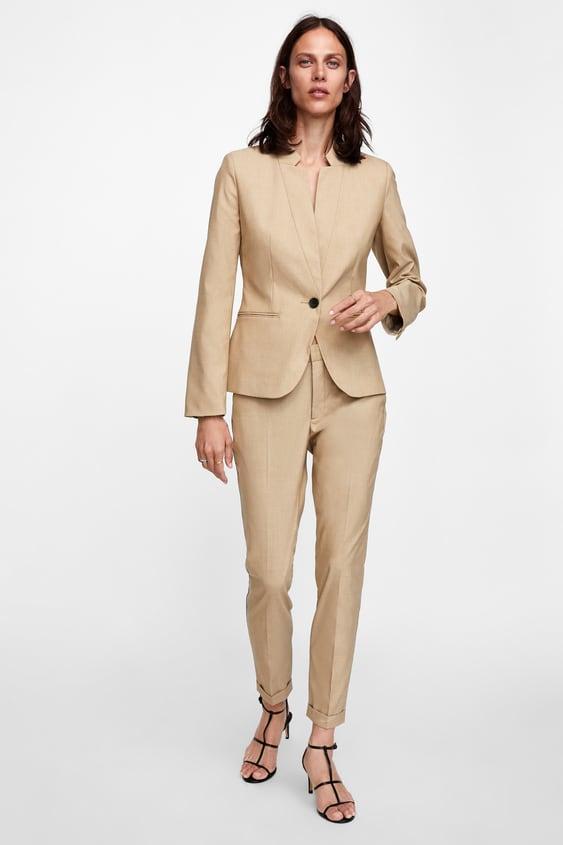 Skinny Broek  Kostuumsdames by Zara