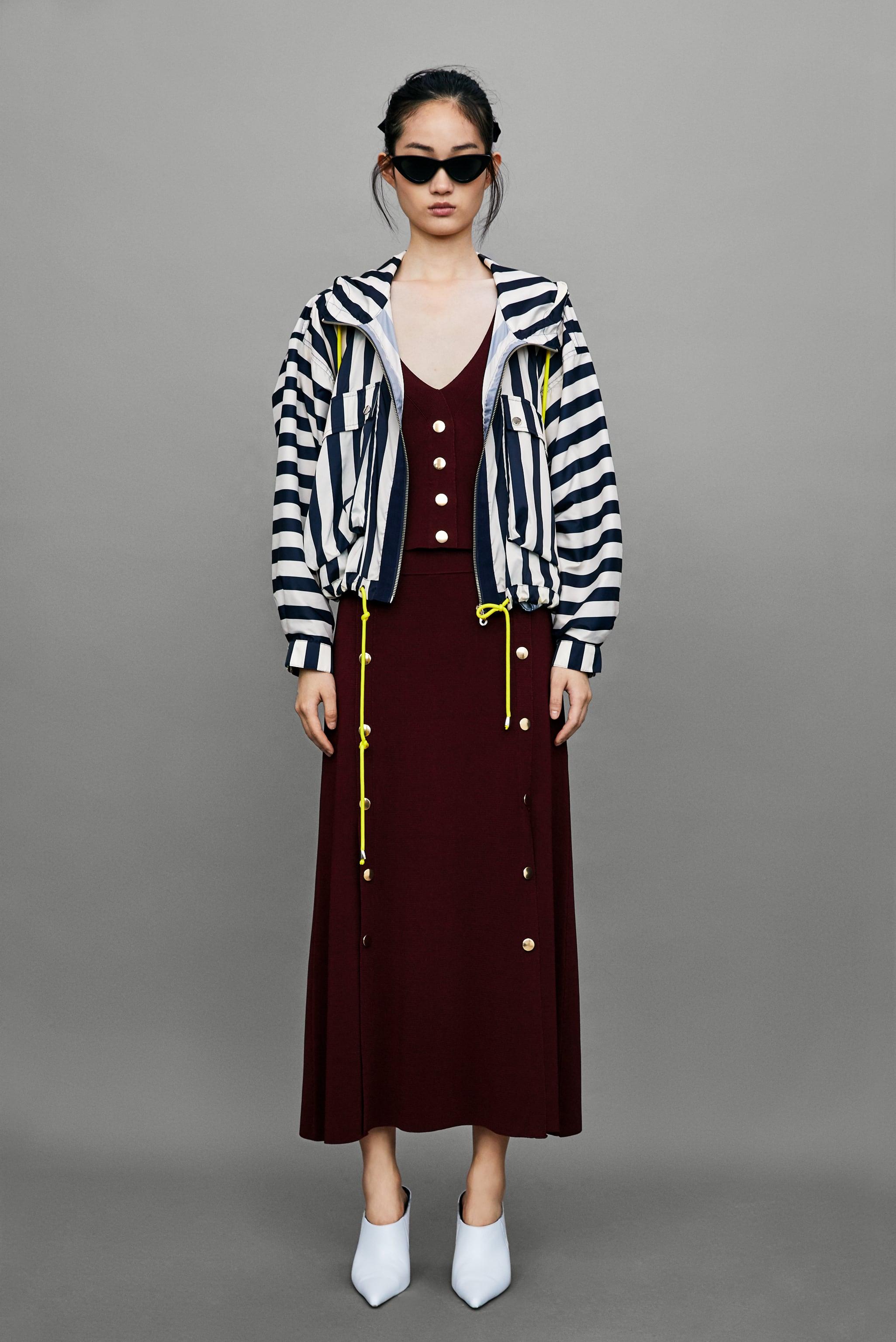 Tony Perotti Casual Aspen Brown Zara Jacket With Contrasting Drawstrings