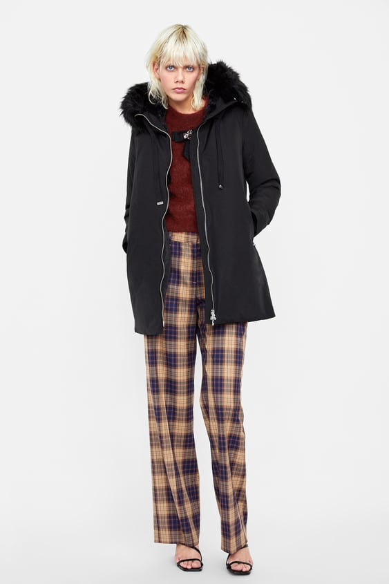 Water Repellent Puffer Parka by Zara