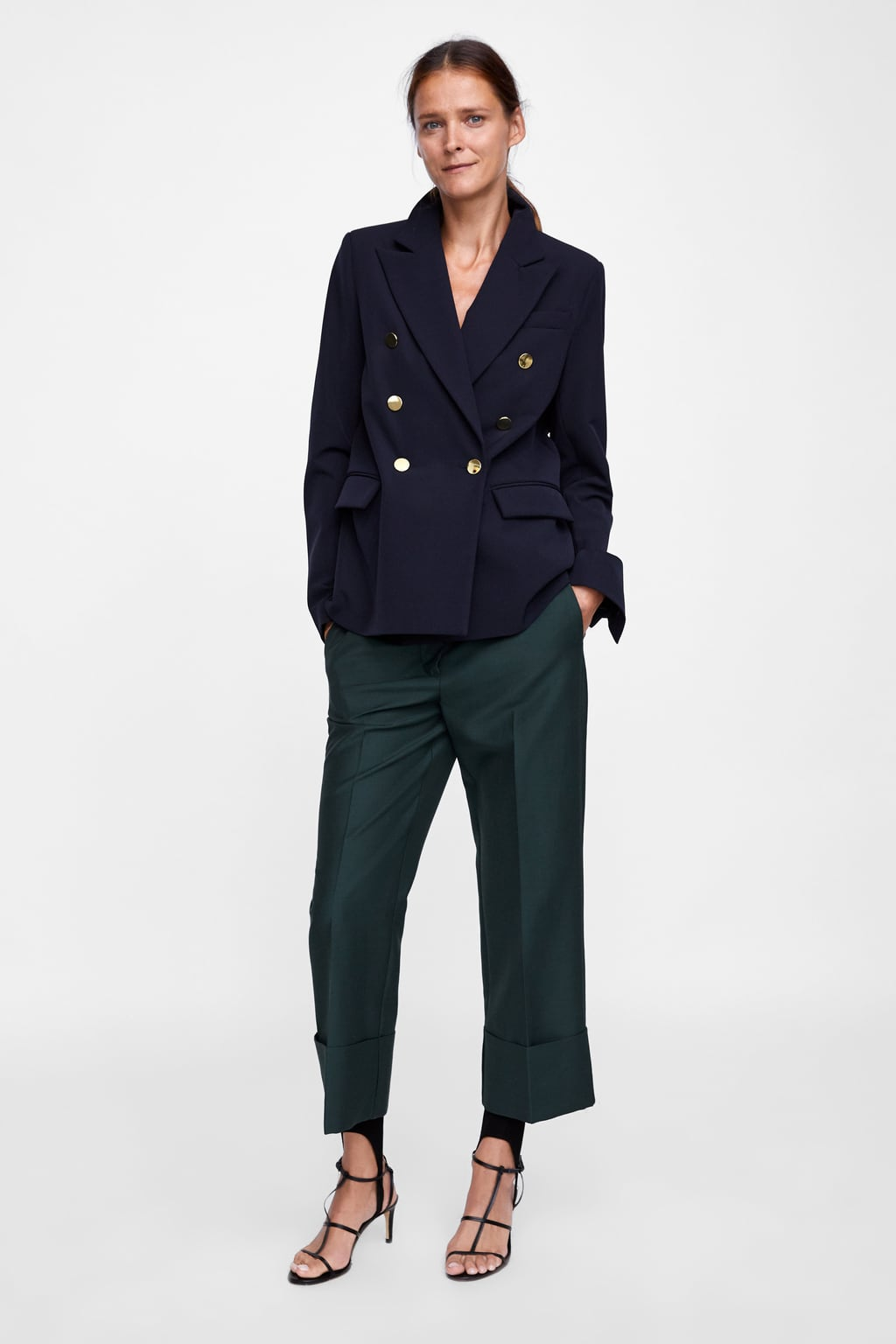 Image 1 of DOUBLE BREASTED BLAZER from Zara