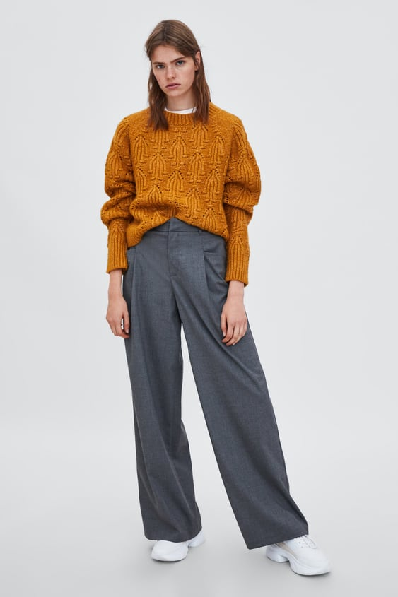 Palazzo Trousers  View All Trousers Woman by Zara