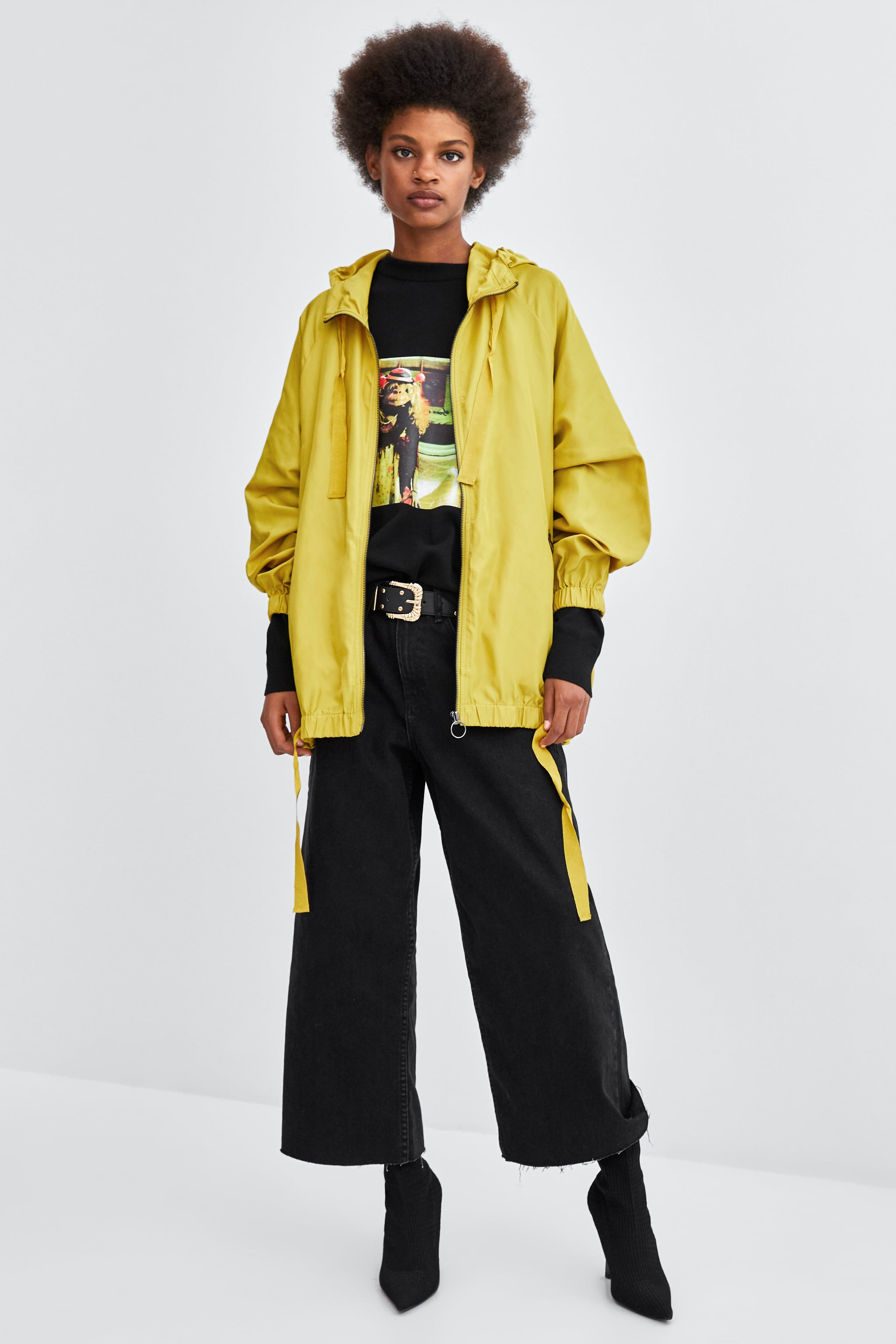 Tony Perotti Sandals Evan Brown Cokelat Tua 40 Zara Windbreaker With Bag