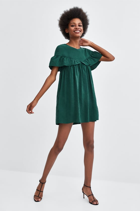 Ruffled Jumpsuit Dress  View All Dresses Trf by Zara