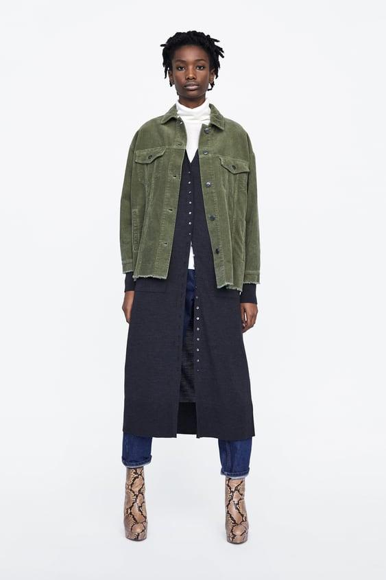 Corduroy Jacket  New Inwoman by Zara