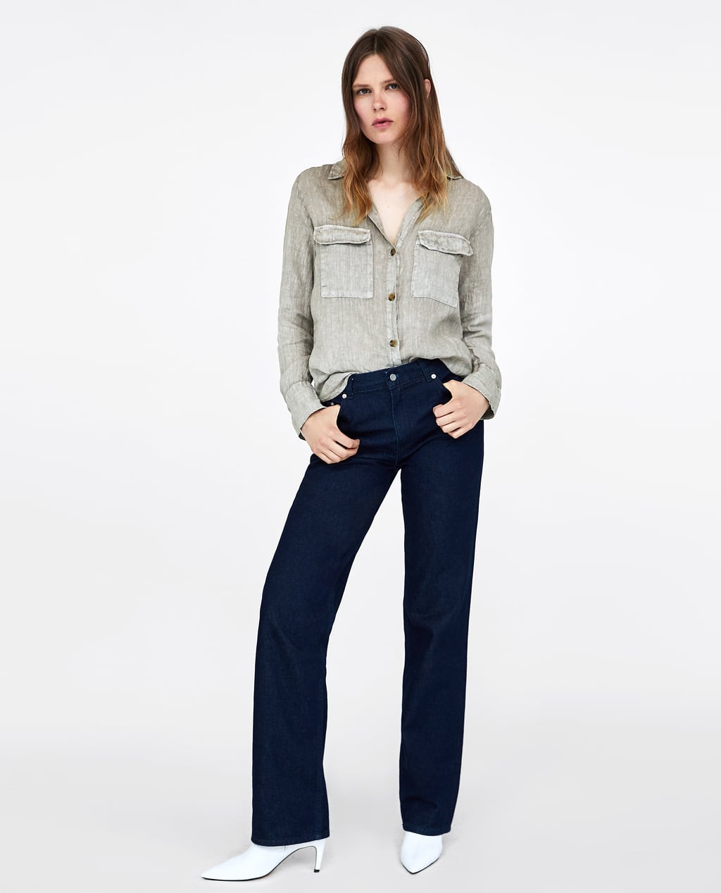 linen-shirt-with-pockets--view-allshirts by zara