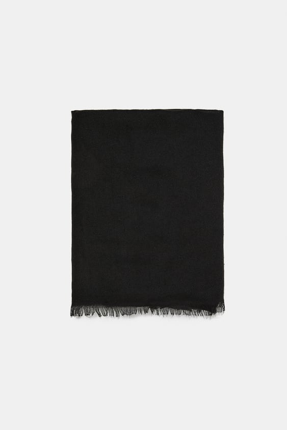 Basic Soft Scarf  View All Accessories Woman by Zara