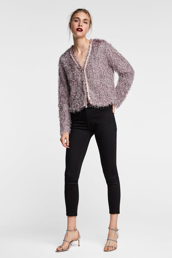 Fringed Jacket  Blazerswoman by Zara