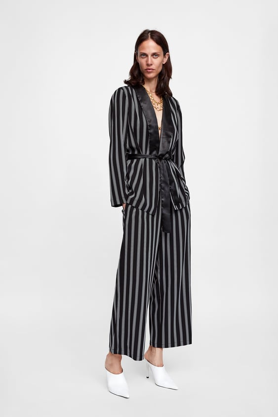 Striped Pants  Smart Pants Woman by Zara