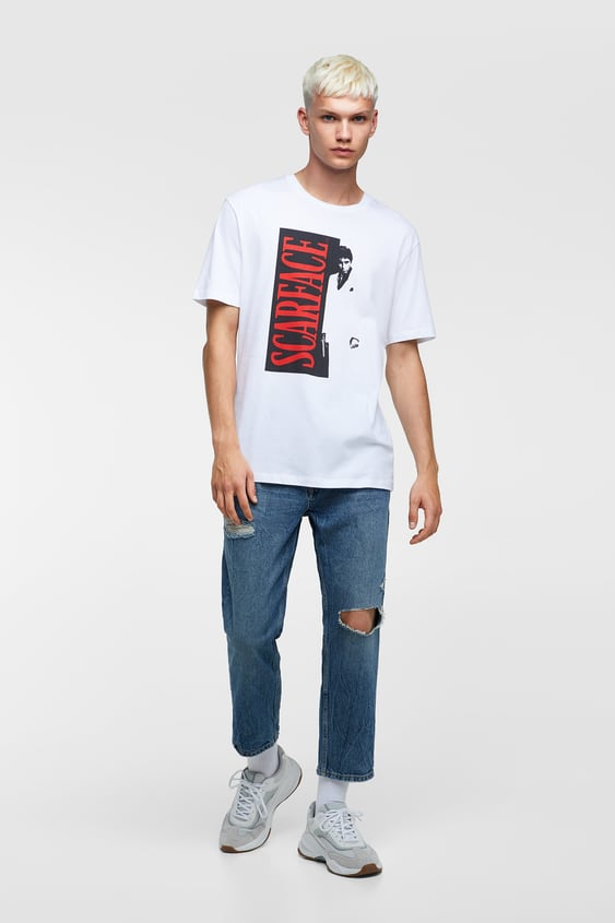 Scarface™ T  Shirt Lisanslı® T Shirt Erkek by Zara