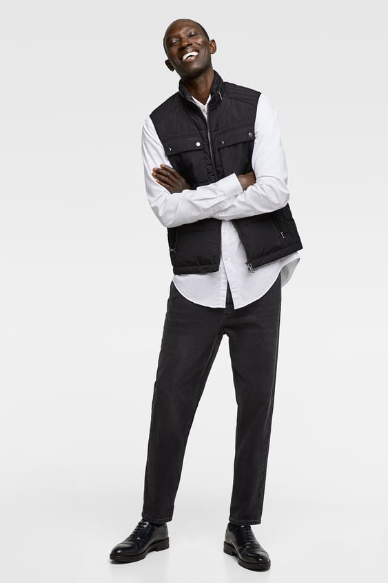 Padded Vest  Jackets Basics Man by Zara