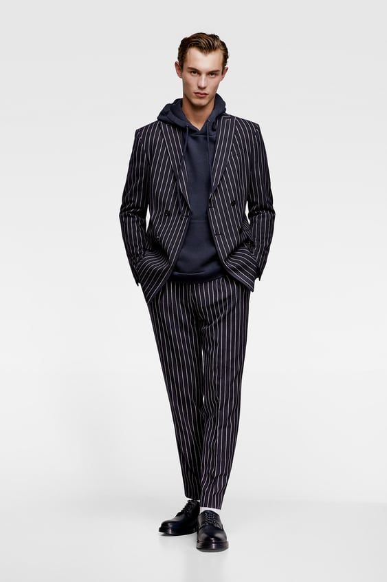 Pinstriped Trousers  Tailored Trousers Man by Zara