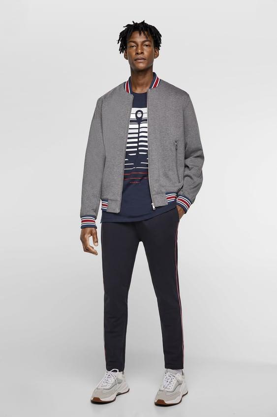 Anchor T  Shirt Graphics & Slogans T Shirts Man by Zara