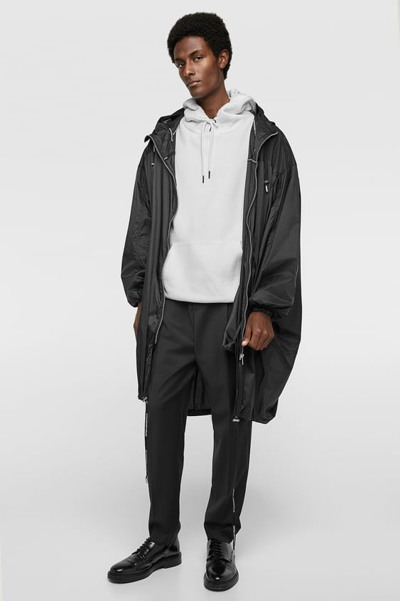 Oversized Lightweight Parka  Parkas And Trench Coats Outerwear Man by Zara