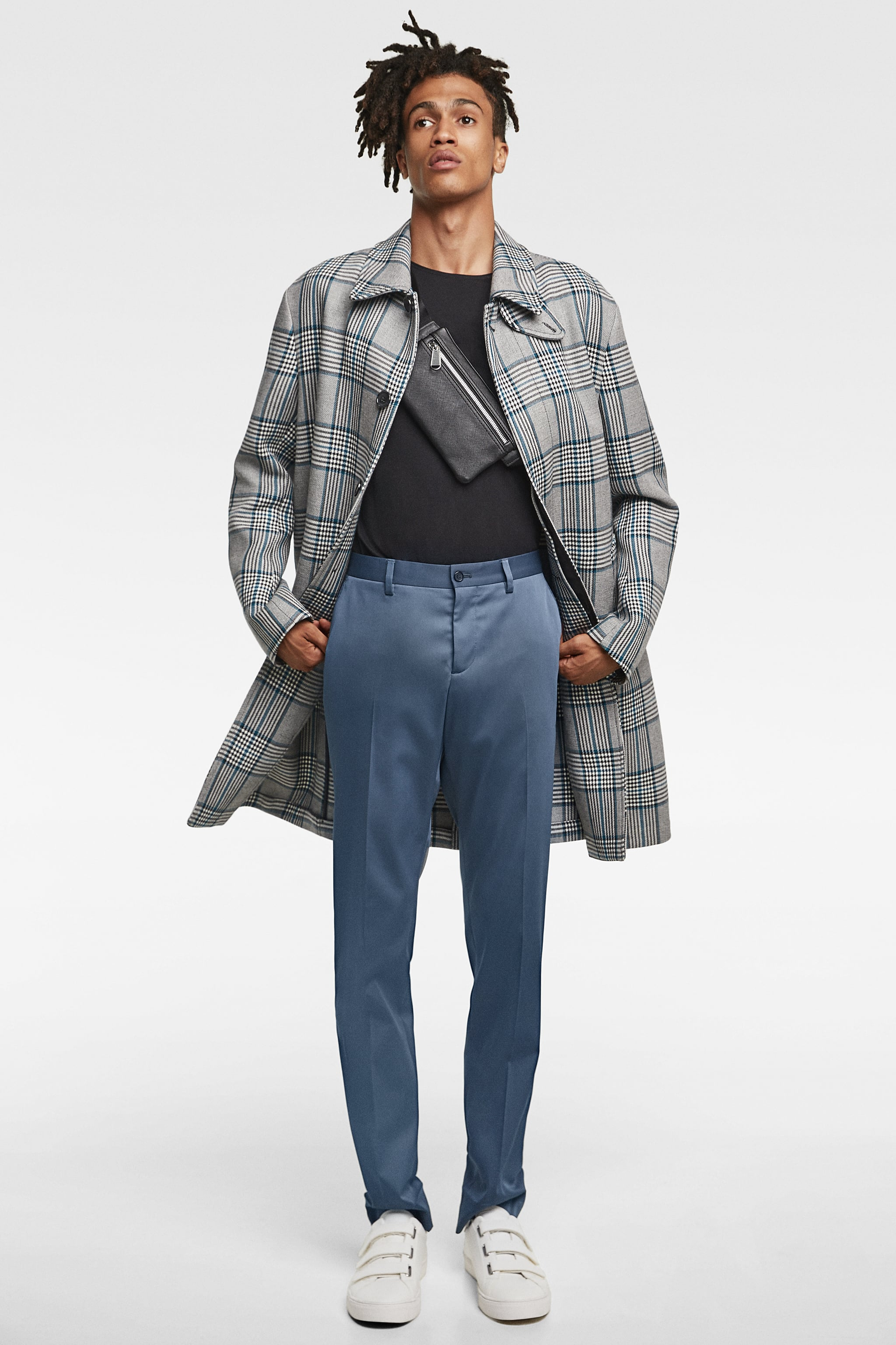Zara CHECKERED COAT