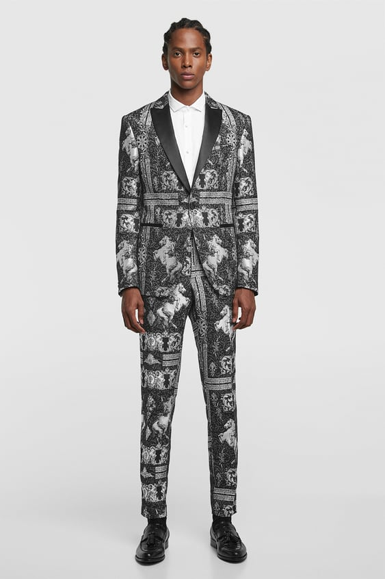 Tuxedo Blazer  New Inman by Zara