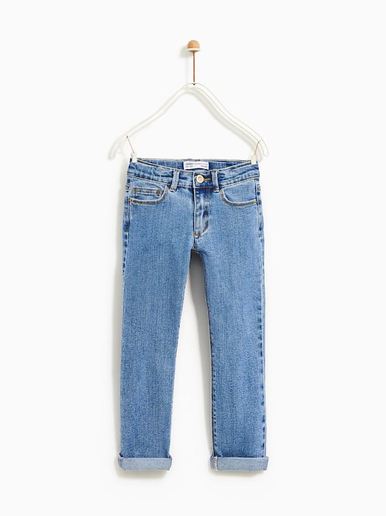 Basic Straight Jeans  Back To Schoolgirl by Zara