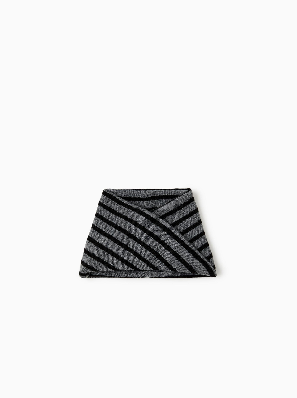 Zara STRIPED NECK WARMER a880fadb60d