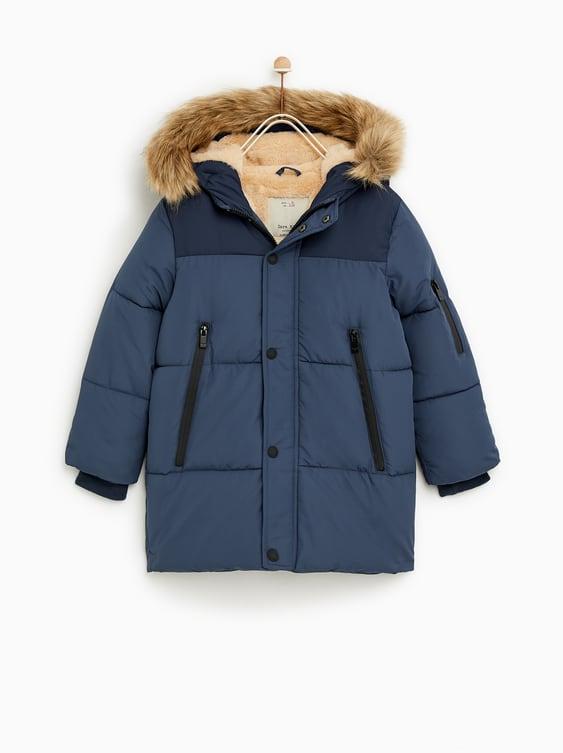 Puffer Jacket  New Inboy by Zara