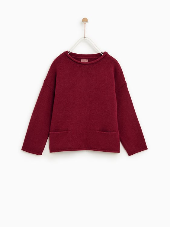 Basic Sweater With Pockets  Trending Nowgirl by Zara