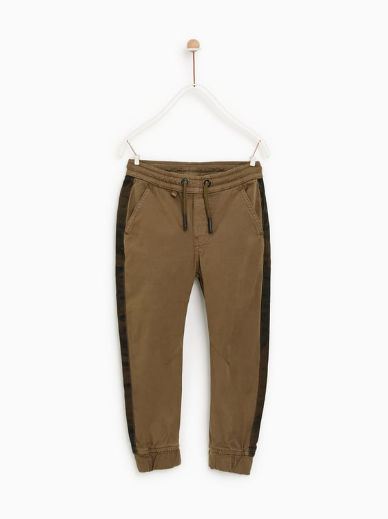Pants With Side Stripes  Pants And Shortsboy by Zara