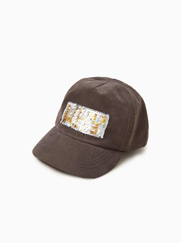 0bc78607d7a9 Zara REVERSIBLE SEQUIN CAP