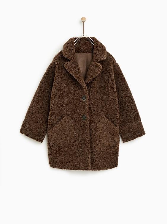 Reversible Faux Shearling Coat  New Inboy by Zara