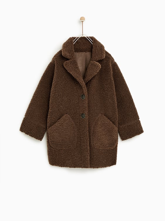 Reversible Fleece Coat  View All Coats Boy by Zara